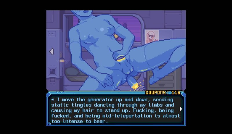 Hardcoded.HC tries out her new teleportation sex toy to teleport her own dick in her own ass