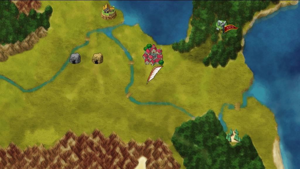 Island SAGA. world map