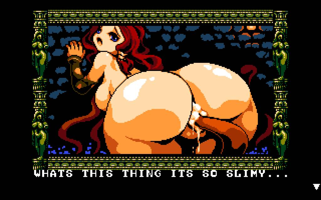 Midnight Castle Succubus. tentacle cums in the pussy of the protagonist