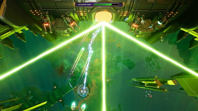 Subverse. fighting a space station with heavy guns